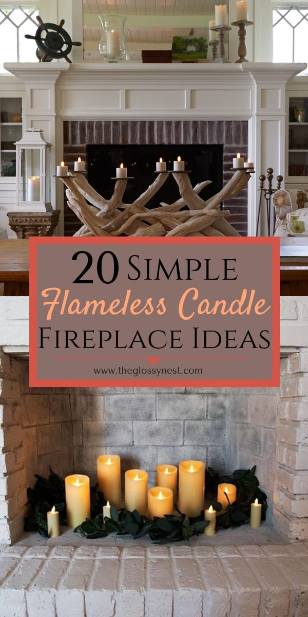 20 Simple Ways To Decorate A Fireplace Mantle With